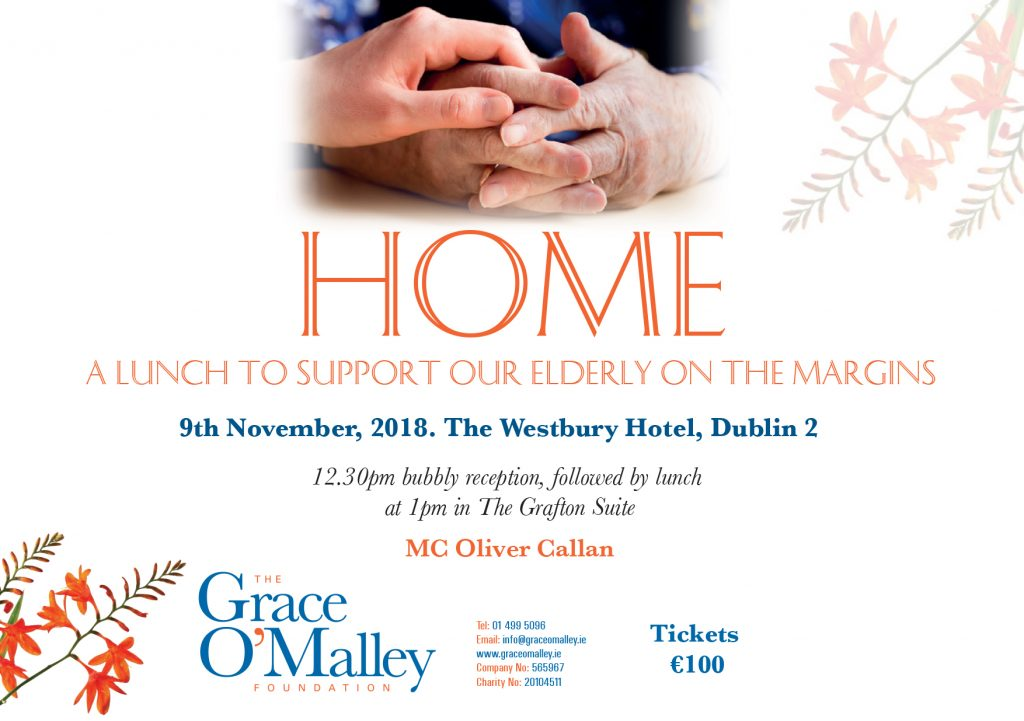 HOME a fundraising lunch to help our elderly on the margins.